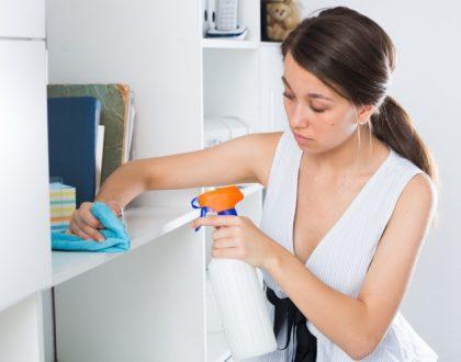 como fugir das alergias respiratórias com a limpeza do lar