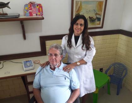Fonoaudiologa no home care