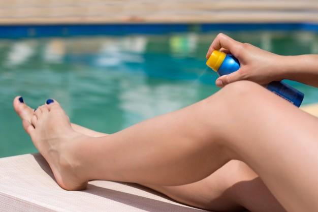 cuidados com a pele durante o verão