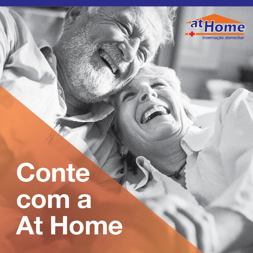 Conte com a At Home